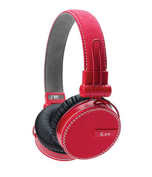 LOVE these iLuv ReF On-Ear Headphones. They remind me of my Chucks :)
