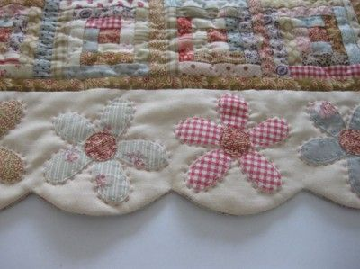 Scallop Flower Quilt Border Idea