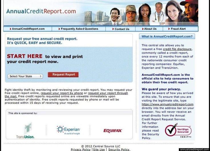 free annual credit report pdf