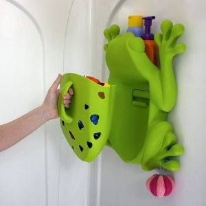 Boon Frog Pod Bath Toy Holder   Scoop, Drain And Store Your Favorite Bath  Toys! Comes With Suction Cups For Vinyl Shower / Tubs Or Screws For Tile.