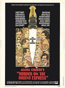 Murder on the Orient Express--classic mystery noir