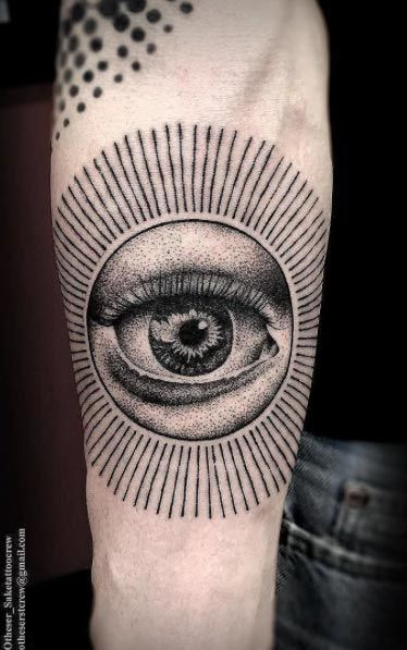 Eye Tattoo by Otheser
