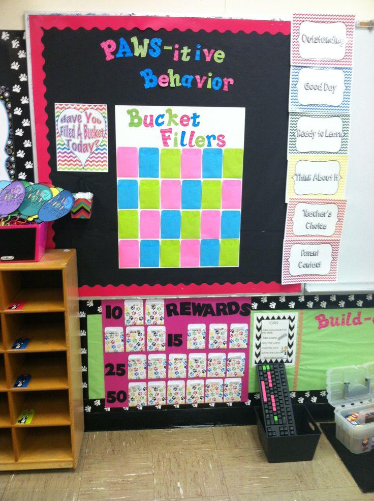 Classroom Decor Bundles : Chevron and puppies classroom theme bundle buckets