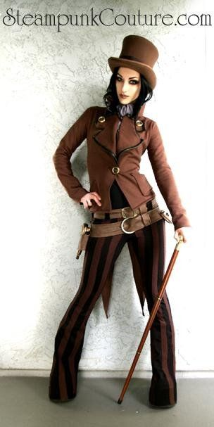 Steampunk Couture (clothing reference)
