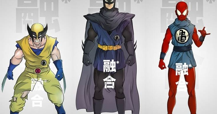 O Artista francês PIERRE-MARIE LENOIR imaginou como seria a fusão de Personagens Z com Batman, Homem-Aranha, Robin, Wolverine e Conan.      ...