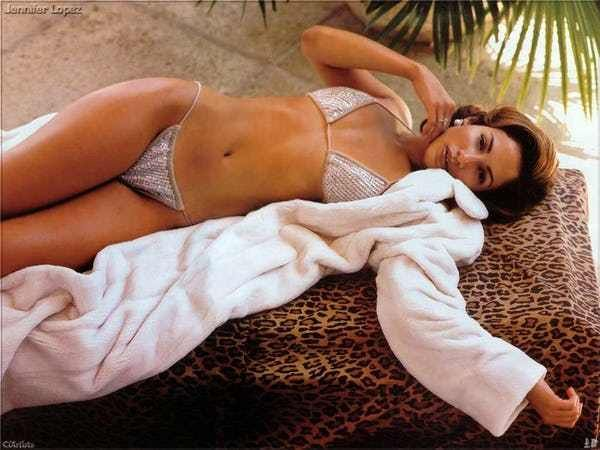 Singing Stresses Jennifer Lope... is listed (or ranked) 2 on the list The 21 Jennifer Lopez Bikini Pictures
