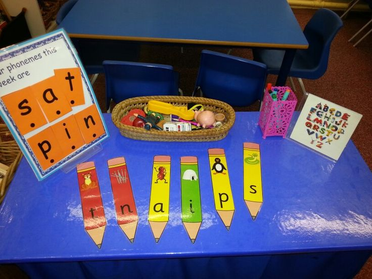 Phonics factory. Place the objects on the right grapheme.