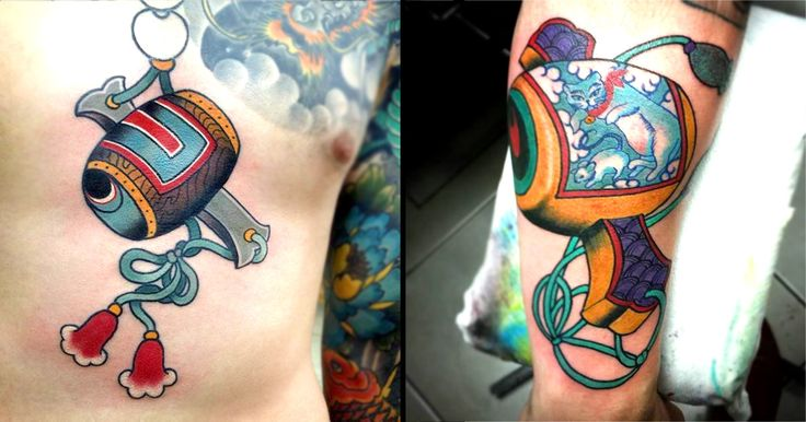 A magical hammer in Japanese folklore makes for some legendary tattoos!