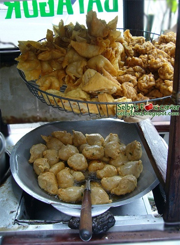 Batagor fried , how to resist??