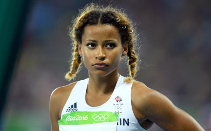 Jazmin Sawyers represented Great Britain in the long jump at the Rio 2016 Olympics