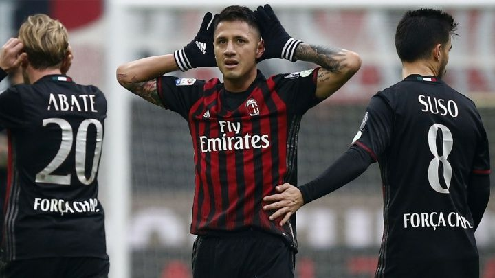 Gianluca Lapadula has indicated there is plenty more to come from him after his late goal gave AC Milan a  Source