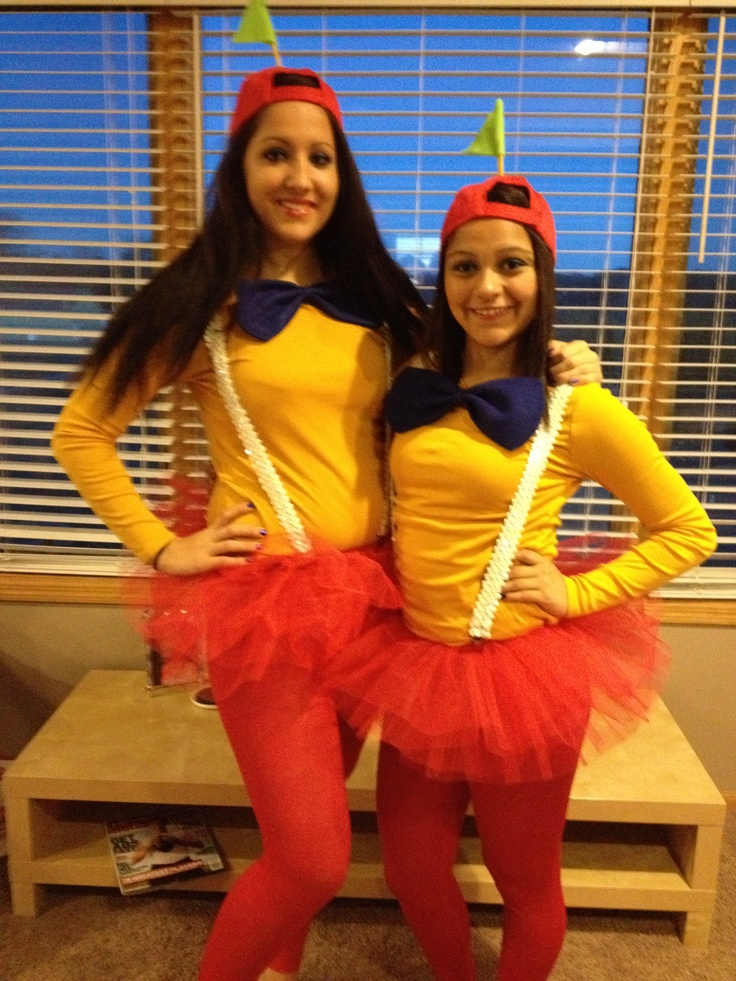 Tweedle Dee & Tweedle Dum homemade costumes!