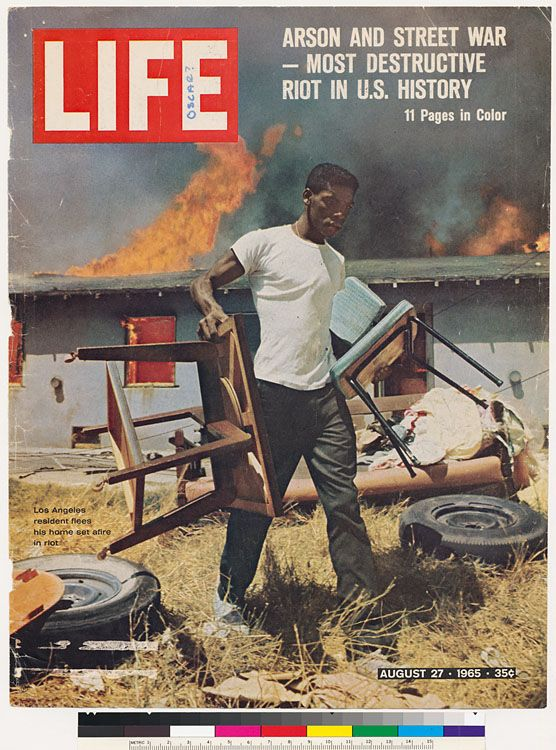 watts riots 1965 essay examples