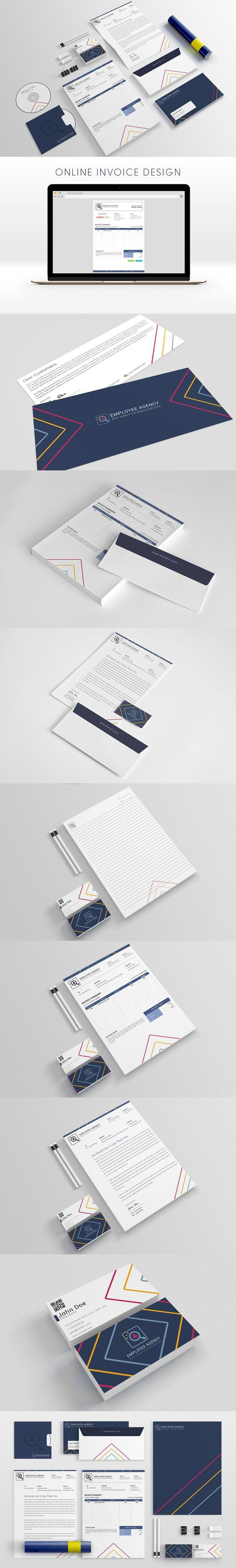 Employee Agency Stationery Templates. Stationery Templates. $11.00