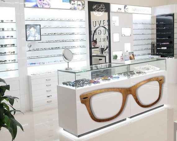Optometry Decor Optometry Art Optician Giant Wayfarer Etsy Eyewear Store Design Optical Shop Optometrist Office