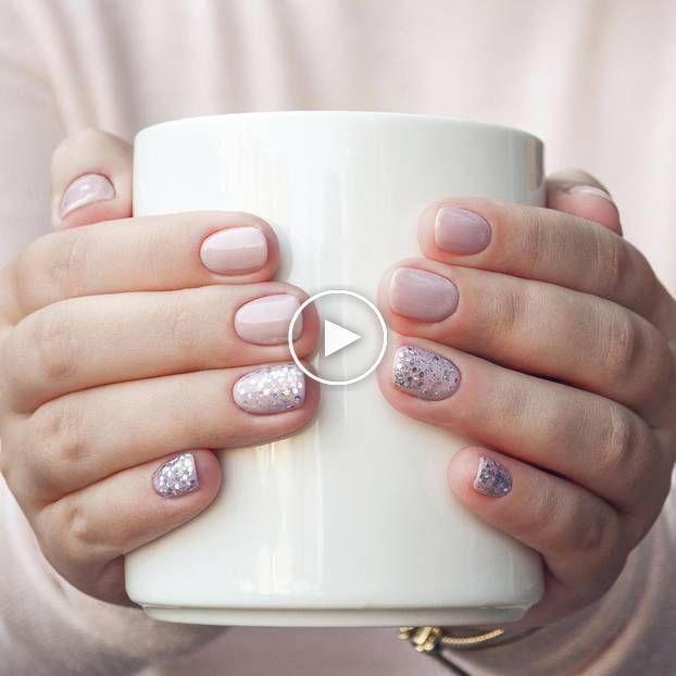 Nagelhautnägel: Der schönste Nageltrend für kurze Fingerngel #maquillagein …   – Idees de Maquillage