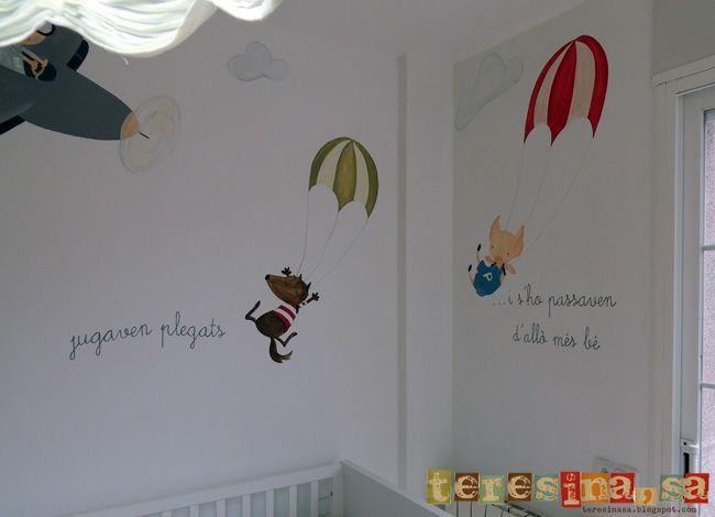 Cómo hacer un mural infantil para vuestros hijos