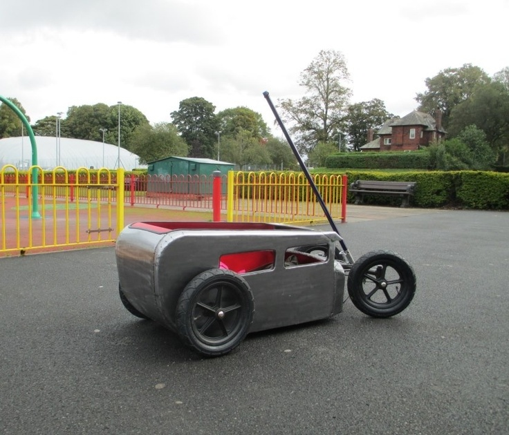 Kids Hot-Rod Custom Cart. Built by Kenneth Waters @ Volkszombie VW Restorations in Carlisle, UK.