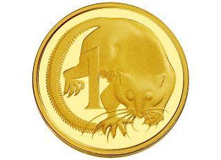 2013 1c Australian Gold Proof Coin.