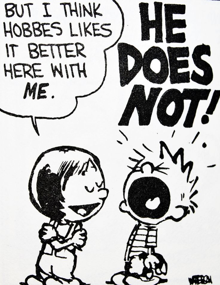 Calvin and Hobbes, DE's CLASSIC PICK of the day (8-24-14) - (Susie kidnaps Hobbes) But I think Hobbes likes it better here with ME. ...HE DOES NOT!