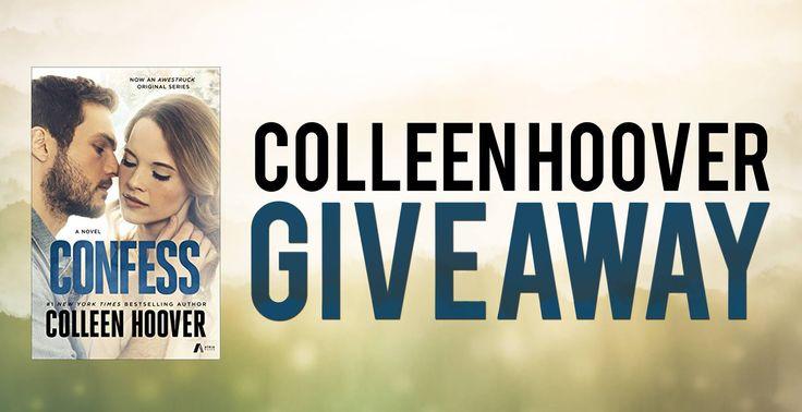 #Romance #Giveaway – Win Any #ColleenHoover Novel! #kindle #amreading