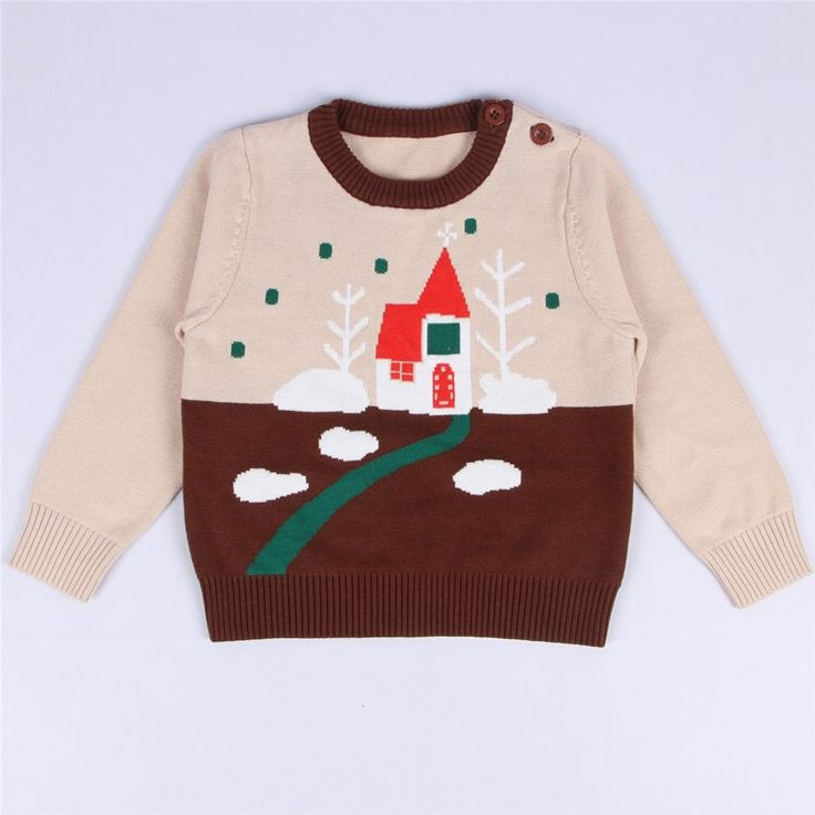 >> Click to Buy << ins* new baby kids cotton knitted sweaters vintage design boys girls spring autumn top clothes soft beautiful 1-5Y free shipping #Affiliate