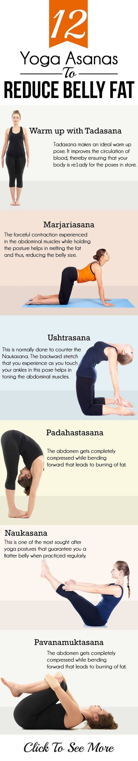 Yoga Exercises for Belly Fat