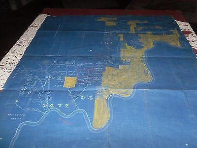 ANTIQUE MAP PENNSYLVANIA CAMERON COUNTY CLINTON COUNTY AREA 1900'S