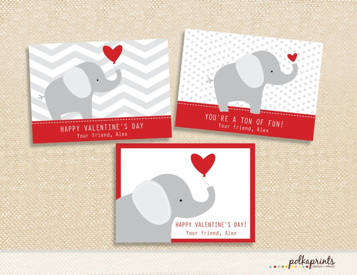 59 best images about valentines day – Elephant Valentine Card