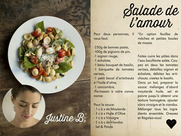 Make my lemonade - recette - salade