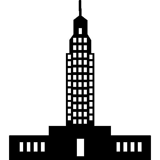 Empire state building in America I Free Icon