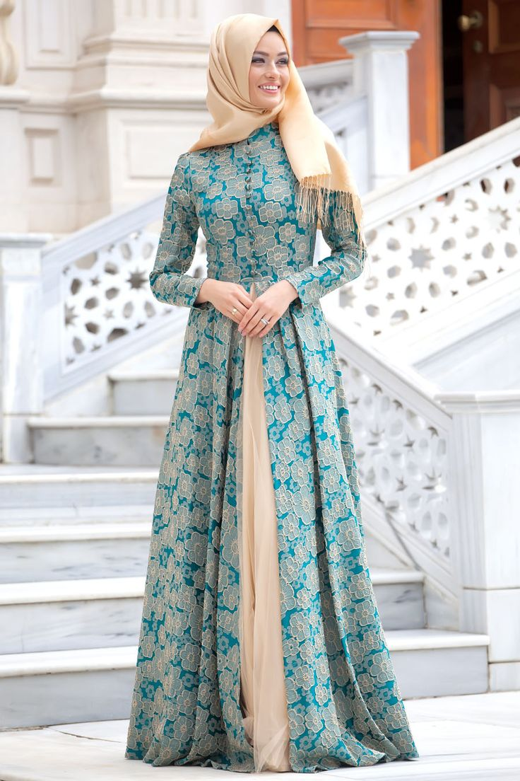 24 best dresses images on Pinterest | Hijab dress, Hijab fashion and ...