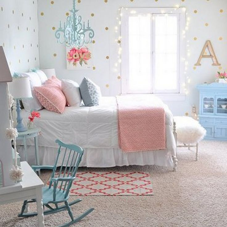 Fancy farmhouse bedroom makeover how does she decor for Fancy girl bedroom ideas