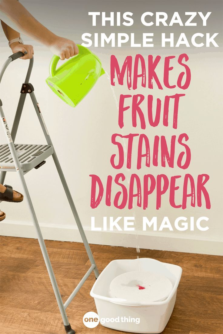 How To Remove Fruit Stains From Your Clothing Laundry Hacks Fun