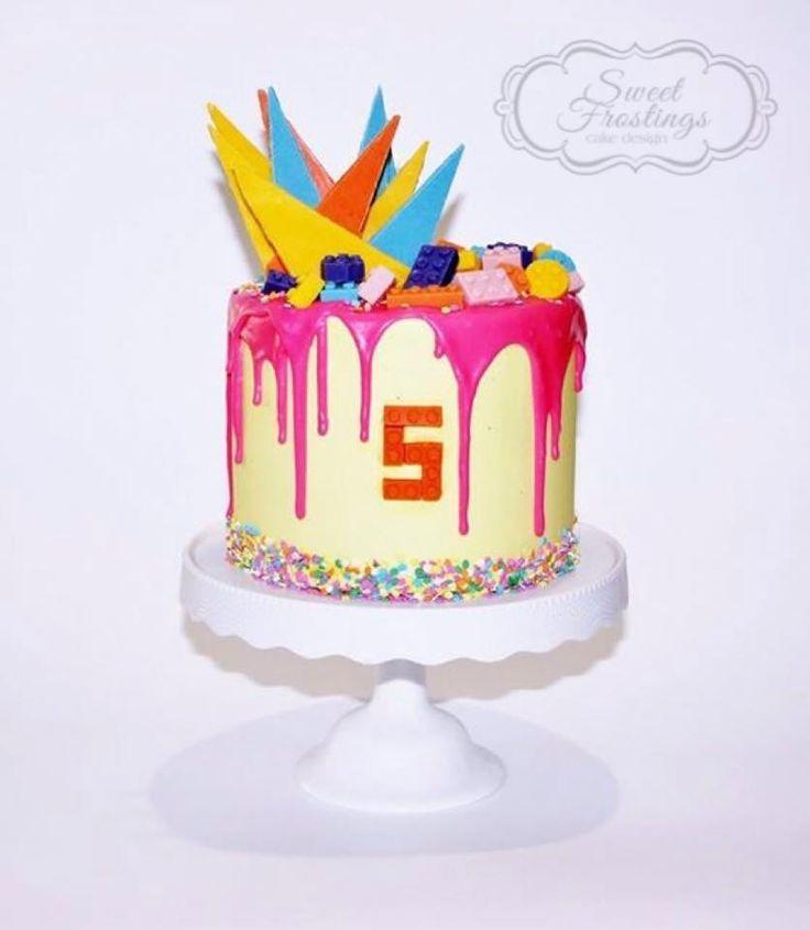 Katherine Sabbath inspired girls lego cake