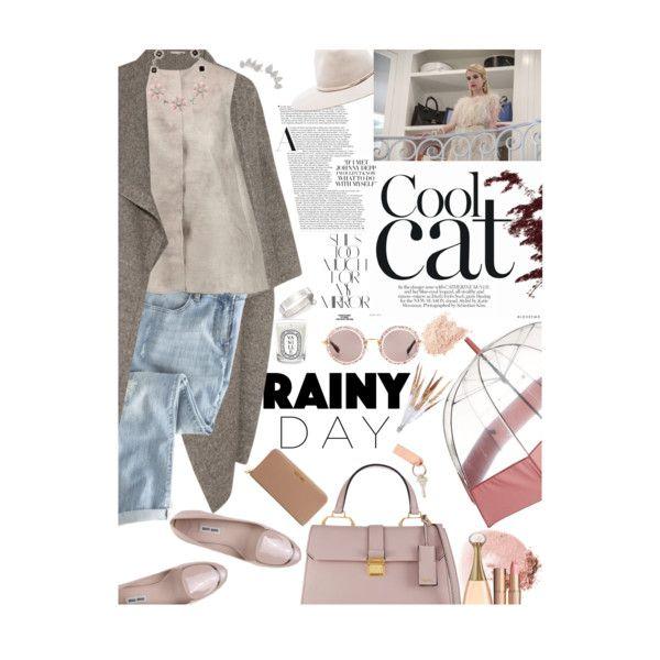 A fashion look from October 2015 by mimivamp featuring Giambattista Valli, STELLA McCARTNEY, Wrap, Miu Miu, Michael Kors, Meira T, Hunter, rag & bone, NARS Cosm...