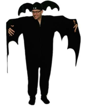 52 best costumes images on pinterest costume ideas halloween prop homemade adult vampire bat costume solutioingenieria Image collections