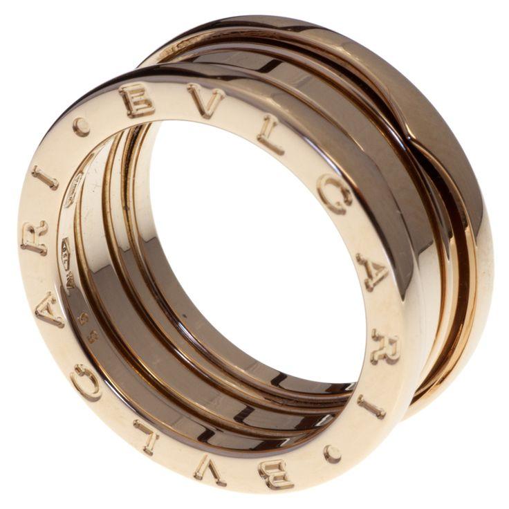 MODASELLE - Bvlgari B.zero1 3 Band 18k Pink Gold Ring, CAD $1,495.00 (http://www.modaselle.com/bvlgari-b-zero1-3-band-18k-pink-gold-ring/)