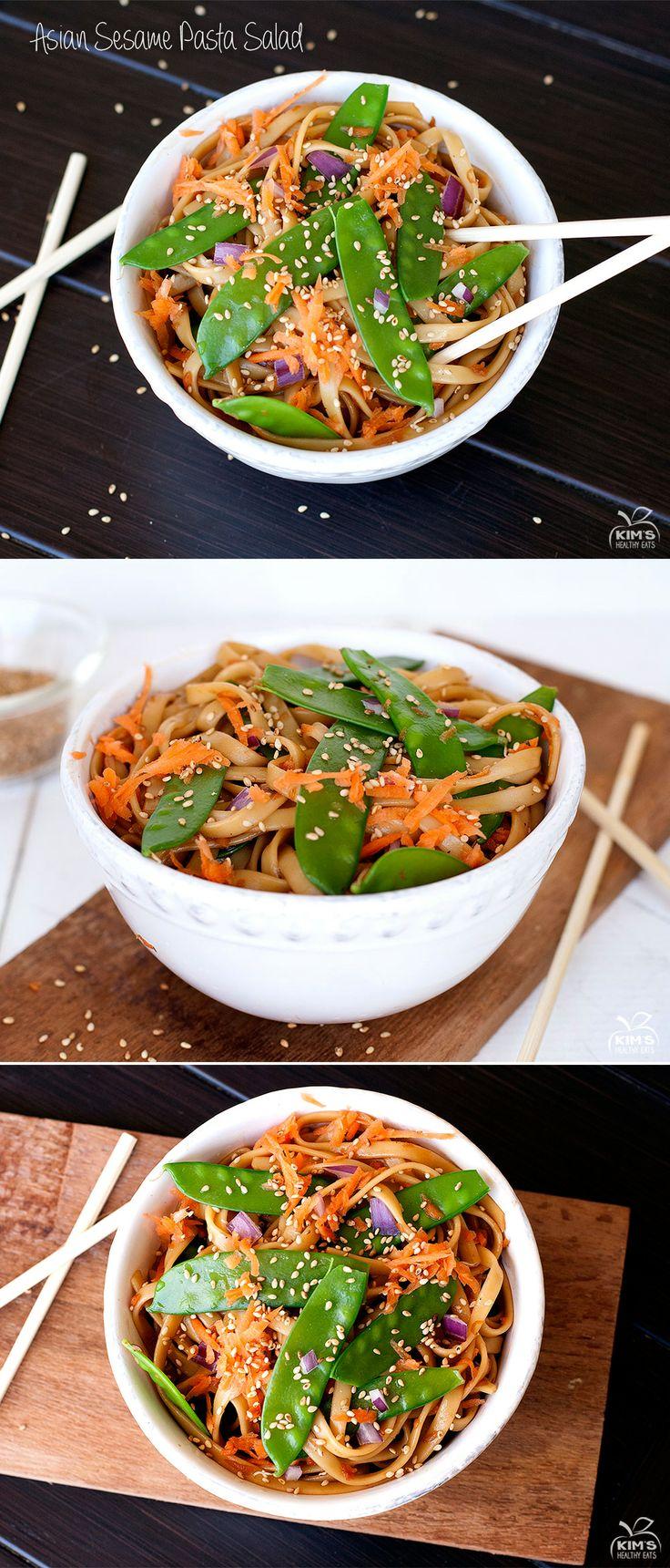 Asian Sesame Pasta Salad