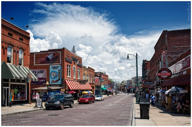 Beale Street, Memphis  #South #Southern #Tennessee