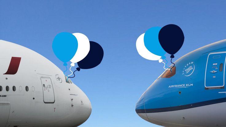 Joyeux Anniversaire # @AirFrance et KLM  Aujourd'hui, #AirFrance fête ses 83 ans et nous souhaitons aussi un joyeux 97ème anniversaire à sa grande sœur #KLM @airfrance @klm @airfranceklm #anniversaire #happybirthday #birthday