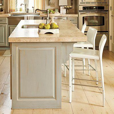 Best 25 functional kitchen ideas on pinterest kitchen ideas home storage ideas and kitchen - Functional kitchen island with sink ...