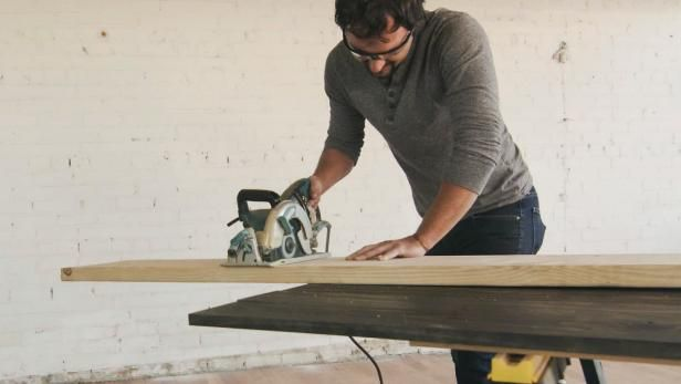 Dan makes a rustic industrial-style bench without using major power tools.