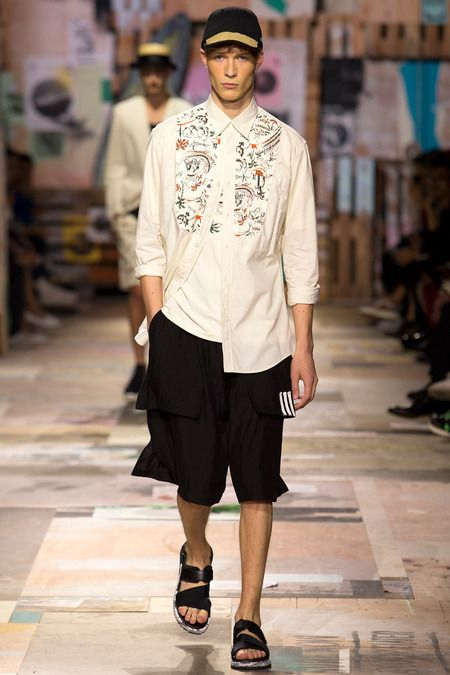 JUST Men's Fashion  Y-3 Spring-Summer 2015 Men's Collection