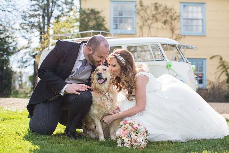 I think it should be common law for dogs to attend weddings. If we have to deal with the weird aunts and uncles it should be sweetened with our four legged friends being there? Todays wedding has a gorgeous couple a cute dog pretty florals and so many personal details from Disney and Harry Potter to Game of Thrones. Have you ever wondered what wedding photographers would choose for their own wedding? Well wonder no more!  photography | Binky Nixon     The suit was rented from Fogartys and…