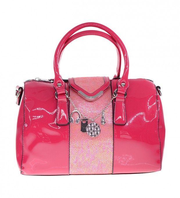 PARIS HILTON Fuchsia Handbag