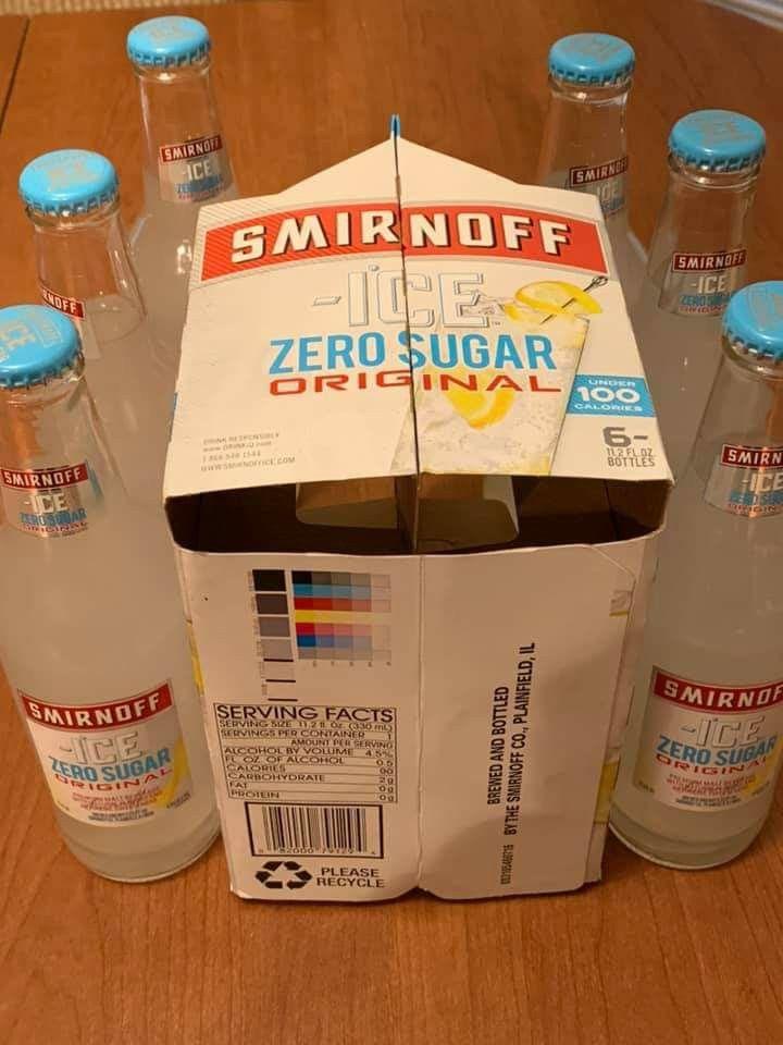 Smirnoff Ice Zero Sugar Smirnoff Ice Smirnoff Alcohol Aesthetic