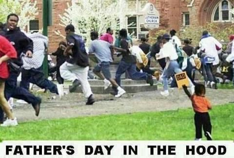 Fathers days in the hood   Click for more Funny Pictures --> http://www.funnypicshub.com