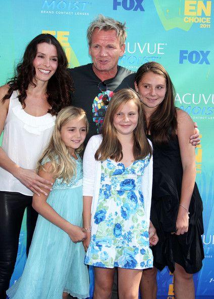 Gordon Ramsey with his family