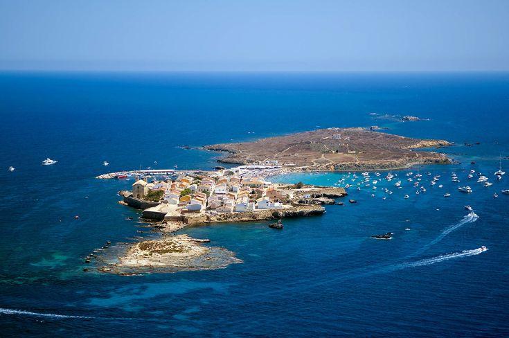 Isla de Tabaraca, Alicante, Spain
